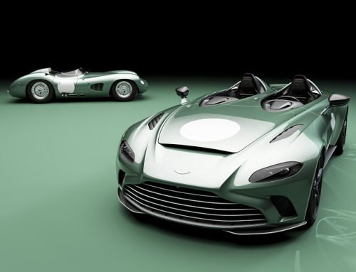 ASTON MARTIN LIMITED EDITION V12 SPEEDSTER. New car news.