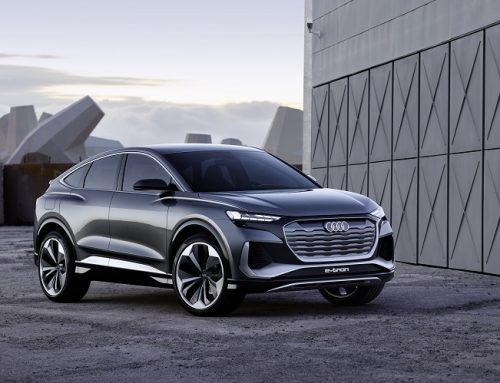AUDI Q4 E-TRON CONCEPT CAR. New car news.