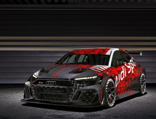 NEW AUDI RS 3 LMS TCR RACING CAR. New car news.