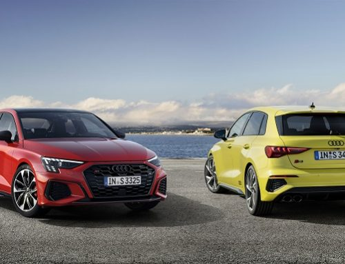 NEW AUDI S3 SALOON AND SPORTBACK. New car news.