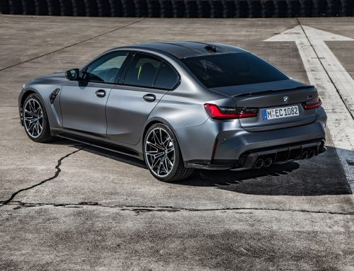 THIS IS BMW'S FIRST EVER ALL-WHEEL DRIVE M3. New car news.