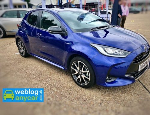 NEW TOYOTA YARIS HYBRID. Short new car review.