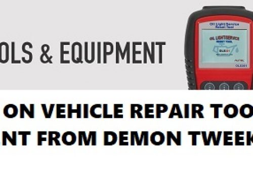 SAVINGS ON VEHICLE REPAIR TOOLS & EQUIPMENT FROM DEMON TWEEKS.
