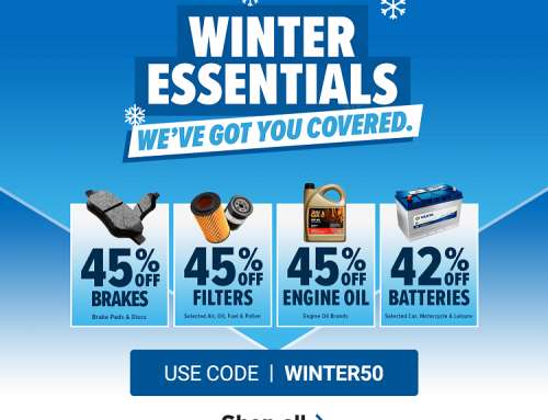 WINTER IS COMING! GET UP TO 45% OFF WITH EURO CAR PARTS SALE.