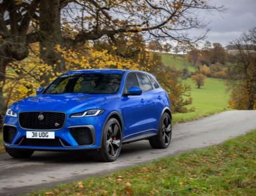 NEW JAGUAR F-PACE SVR. New car news.
