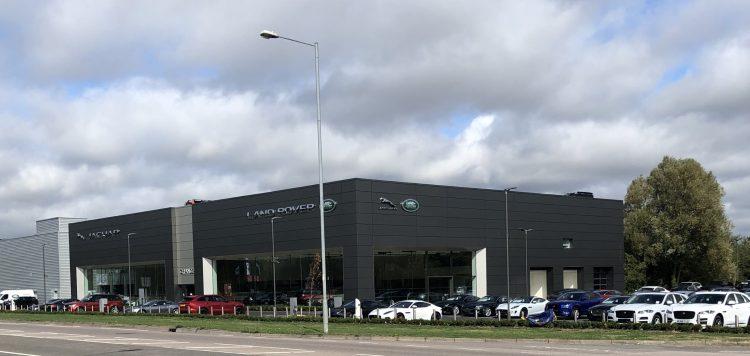 THE NEW GRANGE JAGUAR LAND ROVER SWINDON DEALERSHIP. New car news blog.