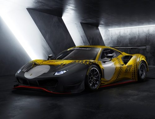 THE FERRARI 488 GT MODIFICATA RACE CAR. New car news.