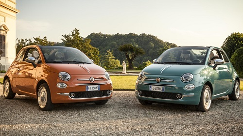 FIAT CELEBRATING 60 YEARS OF THE LITTLE 500. News car blog.