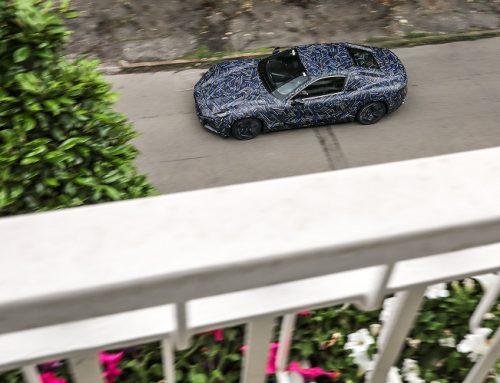 NEW MASERATI GRANTURISMO OUT TESTING. New car news.