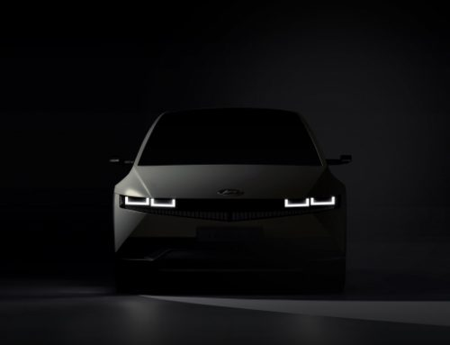 HYUNDAI TEASES IMAGE OF IONIQ 5. New car news.