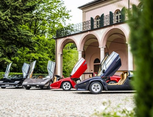 17 YEARS AND 5 GENERATIONS OF THE LAMBORGHINI COUNTACH. Car news.