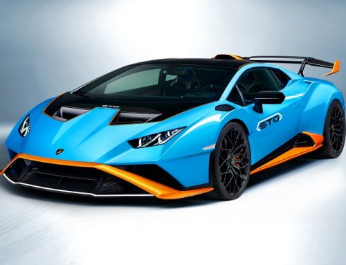 THE NEW LAMBORGHINI HURACAN STO. Car news.