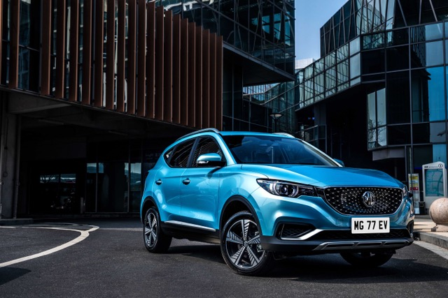 Advertisement feature: MG ZS EV EUROPEAN DEBUT AT THE LEASING.COM LONDON MOTOR & TECH SHOW.