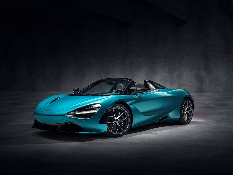 NEW MCLAREN 720S SPIDER. New car news.
