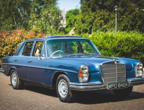 A CLASSIC MERCEDES-BENZ 280SE FOR SALE. Used car auction watch.