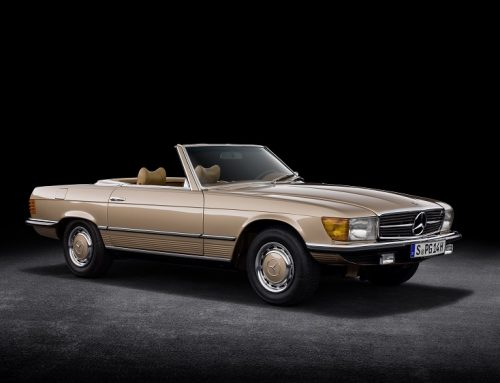 MERCEDES-BENZ SL (R 107) IS 50 YEARS OLD. Car news.