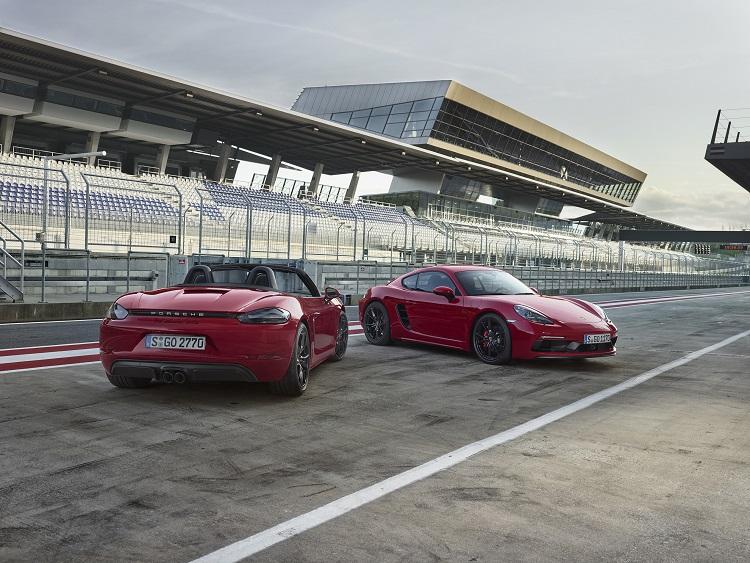 NEW PORSCHE 718 GTS MODELS LAUNCHED. New car news blog.