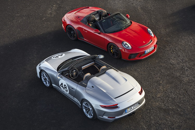 PORSCHE SPEEDSTER THROUGH THE YEARS. New car news.