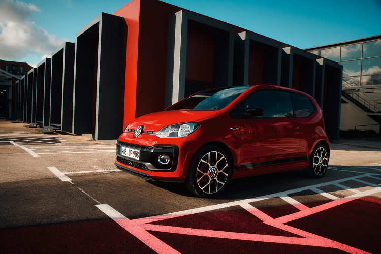 THE VOLKSWAGEN UP! GTI IS BACK. New car news.