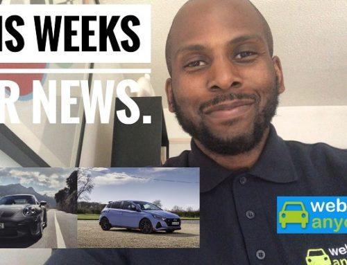 THIS WEEKS SHORT VIDEO CAR NEWS.
